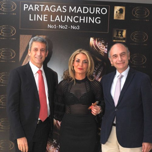 Partagas Maduro Line Launching in Greece