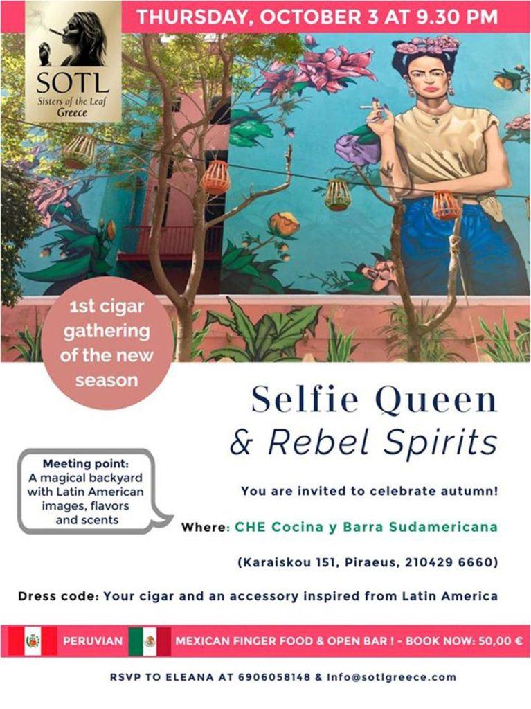 Selfie Queen & Rebel Spirits - SOTL Greece