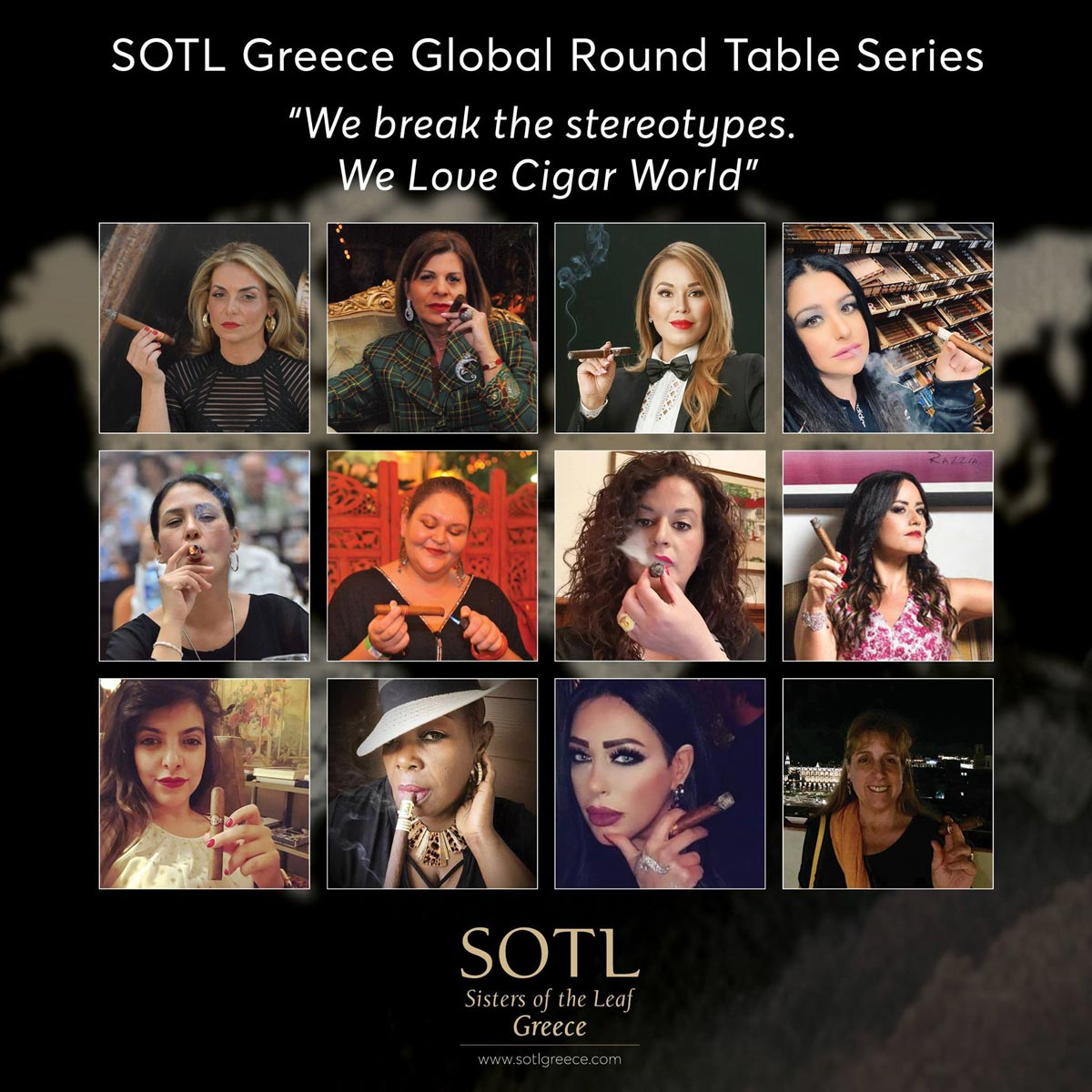 We break the stereotypes. We love cigar world - SOTL Greece